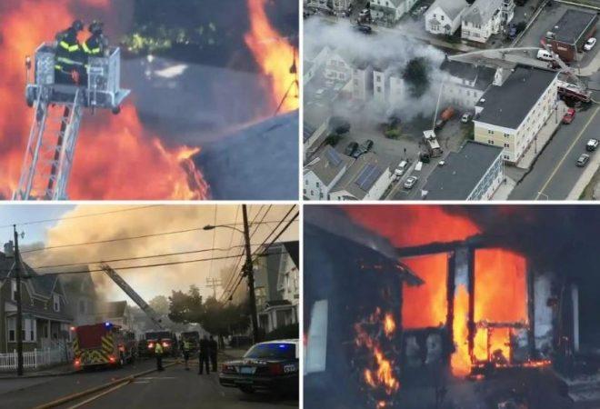 (VIDEO) Požari i eksplozije potresaju okolicu Bostona