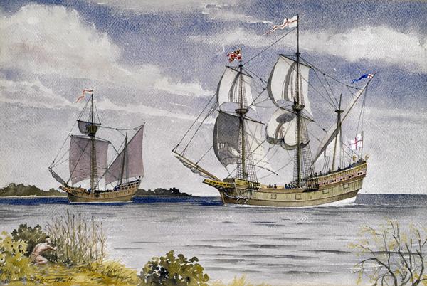 Prvi naseljenici došli na područje Marylanda u Sjevernoj Americi (1634.)