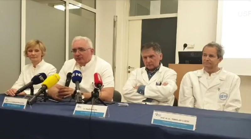 """Veliki uspjeh hrvatskih liječnika: """"Presretni smo što smo razdvojili sijamske blizanke!"""""""